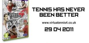 Virtua Tennis 4. Видео #4