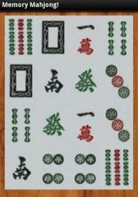 Обложка Memory Mahjong