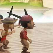 Обложка Pirates v Ninjas Dball