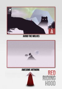 Обложка Red Riding Hood and the Restless Wolves