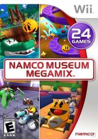 Обложка Namco Museum Megamix