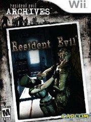 Обложка Resident Evil Archives: Resident Evil