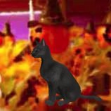 Скриншот Halloween Black Cat