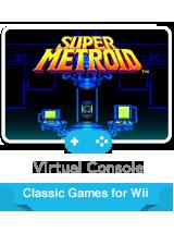 Обложка Super Metroid