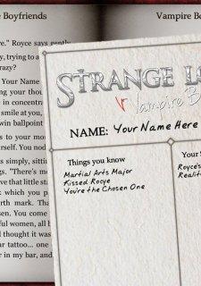 Strange Loves: Vampire Boyfriends