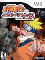 Обложка Naruto: Clash of Ninja Revolution 2