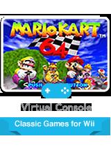 Обложка Mario Kart 64