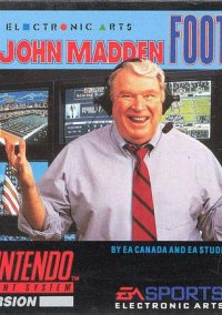 Обложка John Madden Football '93
