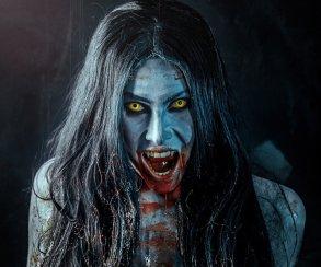 Пугающе прекрасный косплей монстров из The Witcher 3