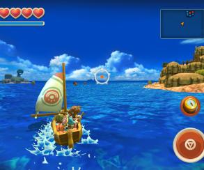 Вдохновленная «Зельдой» Oceanhorn вышла на iOS