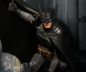 Эта скульптурка позволит вы увидеть, в духе выглядел Бэтмен вначале карьеры