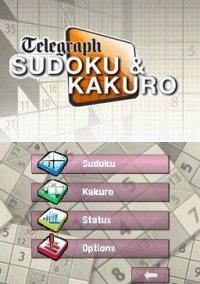 Обложка Telegraph Sudoku & Kakuro