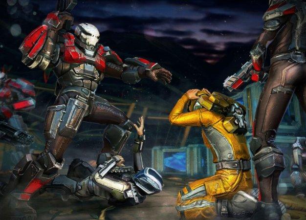 X-Mercs: безумная и сексистская, но затягивающая игра