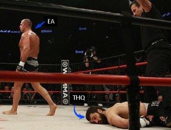 EA + UFC. О конкуренции, вселенской несправедливости и крепких мужских объятиях.