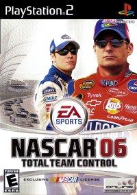 Обложка NASCAR 06: Total Team Control