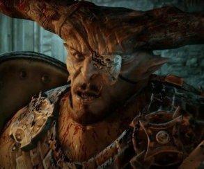 Человек-бык запрыгивает на демона в трейлере Dragon Age: Inquisition