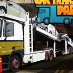 Скриншот Car Transporter Parking Game – Изображение 3
