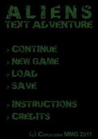 Обложка Aliens Text Adventure