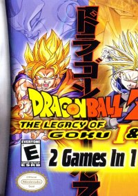 Обложка Dragon Ball Z: The Legacy of Goku I & II