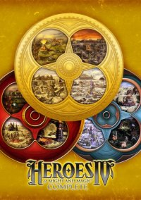 Обложка Heroes of Might and Magic IV: Complete