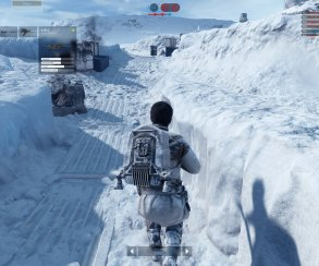 Еще одна планета из Star Wars Battlefront в разрешении 4K