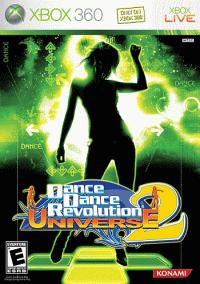 Обложка Dance Dance Revolution Universe 2