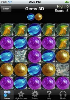 Free Gems 3D Puzzle Game