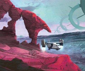 Разработчики No Man's Sky поделились концепт-артом игры