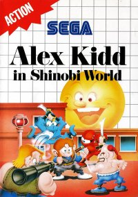 Обложка Alex Kidd in Shinobi World