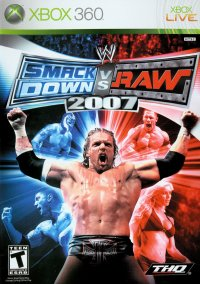 Обложка WWE SmackDown! vs. Raw 2007