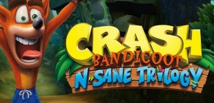 Crash Bandicoot N. Sane Trilogy. Демонстрация уровня Tomb Wader