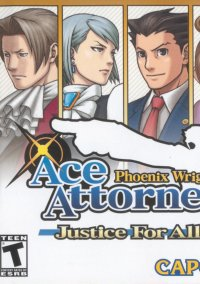 Phoenix Wright: Ace Attorney - Justice for All – фото обложки игры