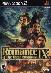 Обложка Romance of the Three Kingdoms IX