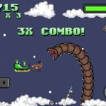 Скриншот Super Mega Worm Vs. Santa – Изображение 5