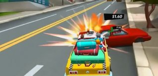 Crazy Taxi: City Rush. Видео #2