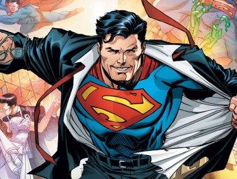 У Супермена новый костюм!