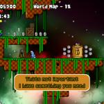 Скриншот Gene - run & jump platformer – Изображение 1