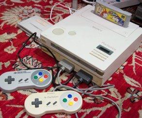 Прототип Nintendo PlayStation показан в рабочем виде