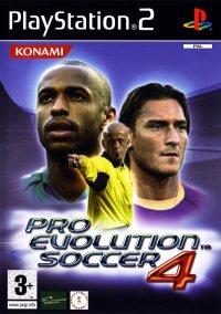 Обложка Pro Evolution Soccer 4