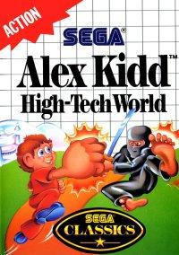 Обложка Alex Kidd: High-Tech World