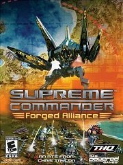 Обложка Supreme Commander: Forged Alliance