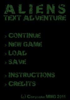 Aliens Text Adventure