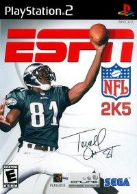 Обложка ESPN NFL 2K5