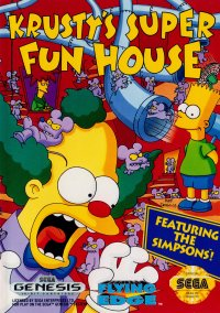 Обложка Krusty's Super Fun House