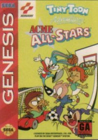 Обложка Tiny Toon Adventures: ACME All-Stars