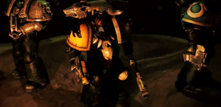 Warhammer 40,000: Deathwatch: Tyranid Invasion. Дебютный тизер