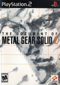 Обложка The Document of Metal Gear Solid 2