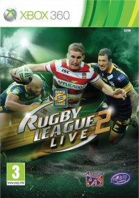 Обложка Rugby League Live 2