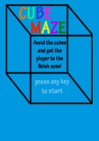 Обложка Cube Maze