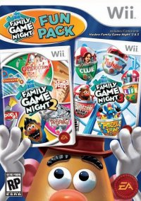 Обложка Hasbro Family Game Night Fun Pack
